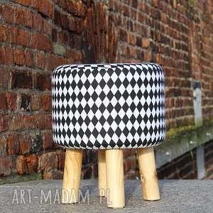 Pufa Mały Arlekin - 36 cm , puf, pufa, taboret, siedzisko, hocker, stołek
