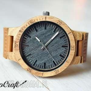 handmade zegarki drewniany zegarek blacktiger
