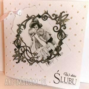 w dniu ślubu - kartka na ślub - ,ślub,wesele,kartka,