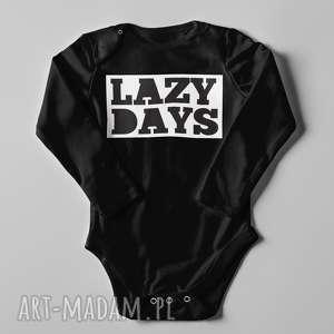 Body lazy days, body, indywidualne, nadryk, text, długi, napis