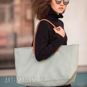 na ramię torba cuboid maxi iv, usztywniana, ekoskóra, mana-mana, prezent, elegancka