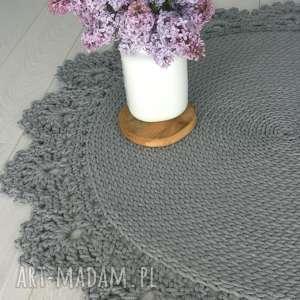 w4design dywan z ozdobną koronką, dywan, koronka, rustykalny, bawełna