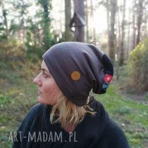 hand made czapki czapka damska wiosenna uniwersalna