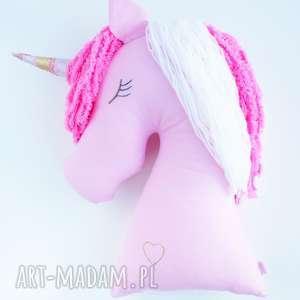 bajkowy jednorożec poduszka dekoracja przytulanka, jednorożec, unicorn, przytulanka
