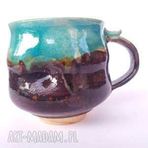 kubek jumbo iii, ceramika, kubek, naczynie, użytkowe, unikatowe, spożywcze