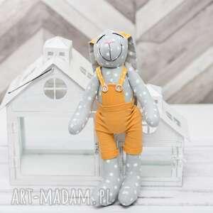 maskotki królik prezent święta personalizacja, królik