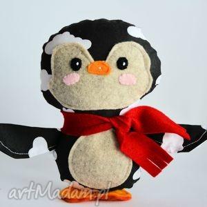 pingwinek tomek, pingwin, chmurka, dziecko, maskotka, boże, narodzenie, pod choinkę