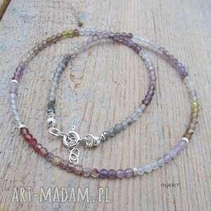 naszyjniki kryształ aura - naszyjnik 371, kwarc, srebro