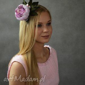 handmade ozdoby do włosów wiosenny kwiat