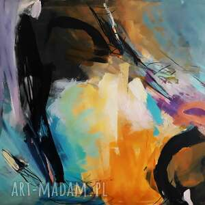 Abstrakt xxl dom galeria alina louka duży obraz abstrakcja
