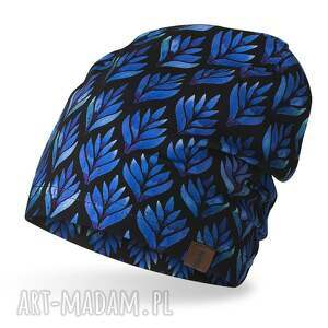handmade czapki czarna czapka wiosenna, lekka do biegania