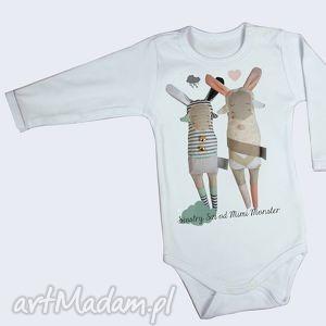 handmade ubranka body siostry szi - prezent dla niemowlaka