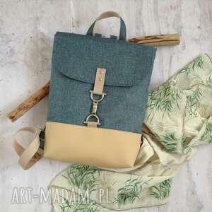 ręcznie robione damski plecak