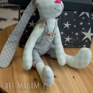 hand-made zabawki królik z imieniem personalizacja