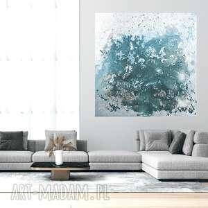 obraz akrylowy ręcznie malowany 80x80