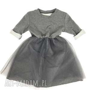 sukienka szara damska, damska, sukienka, dziecko