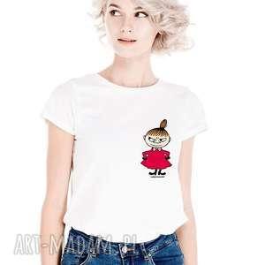 licencjonowana koszulka damska mała mi na lewej piersi - dla lubiących prosote
