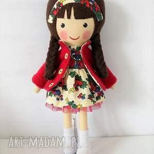 Prezent MALOWANA LALA ZOŚKA, lalka, zabawka, przytulanka, prezent, niespodzianka