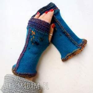rękawiczki mitenki, rękawiczki, dłonie, wełniane