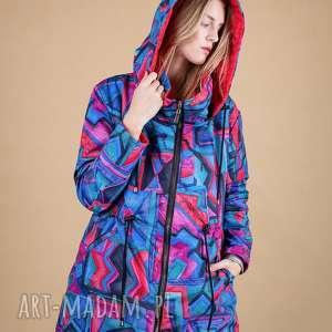 kurtka damska artistic pattern, spodnie dresowe, marynarki jesienne, sukienki