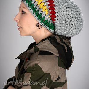 ręcznie zrobione czapki dreadlove rasta