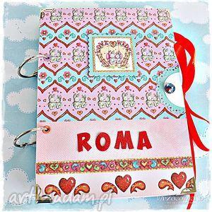 notatnik z imieniem, notatnik, pamiętnik, prezent, dzień, dziecka, dziewczynka