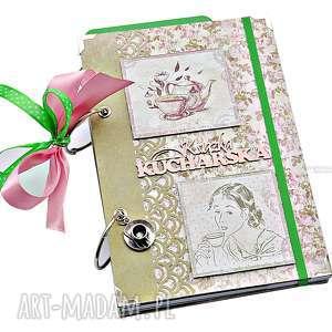 Herbaciane róże - przepiśnik książka kucharska scrapbooking