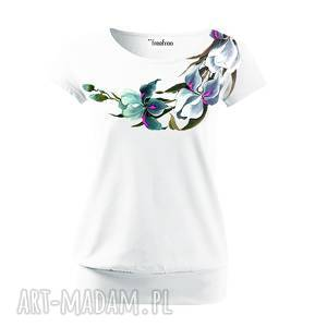 freefroo bawełniana ręcznie malowana bluzka w kwiaty - idealny prezent na dzień