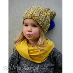 ręcznie wykonane dla dziecka czapunia ammm mode