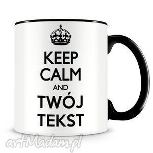 Prezent Keep Calm - kubek z nadrukiem, kubek, keep, calm, prezent, kawa, keepcalm
