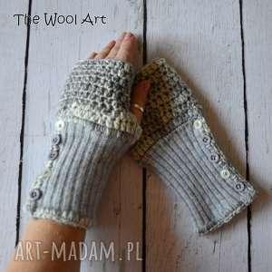ręczne wykonanie rękawiczki - mitenki