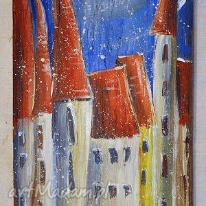 hand-made dekoracje deska ręcznie malowana (2)