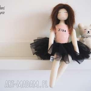 lalka 128 - szmacianka, przytulanka, lalka, ekolalka, ekozabawka, baletnica
