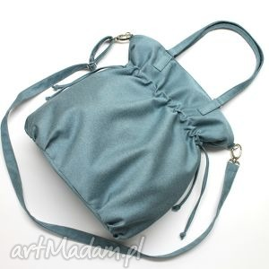 hobo sack - sakiewka tkanina niebieska, hobo, sack, worek, nowoczesna, prezent