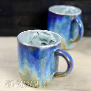 rezerwacja handmade kubek ceramiczny z koniem duży opal 400 ml ii