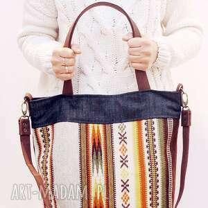 ręcznie wykonane torebki indianka