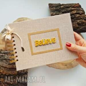 Album na zdjęcia - believe scrapbooking albumy iride handmade