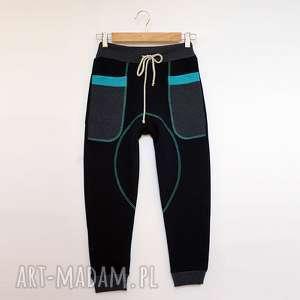 ubranka only one no 026 - spodnie dziecięce 134 cm, dres, bawełna, eco, recykling