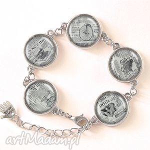 egginegg gazeta - bransoletka - biżuteria, prezent, vintage stara