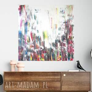 nowoczesny obraz akrylowy 100x100, obraz, sztuka współczesna