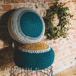 pufa morska - siedzisko poduszka, sznurek, joga, medytacja, rękodzieło, pokój