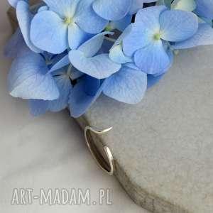 Prezent Minimalistyczny pierścionek w stylu Boho, pierścionek, srebro