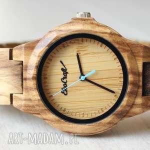 Damskie drewniany zegarek seria FULL WOOD, drewniany, bransoleta, wygodny, kobiecy