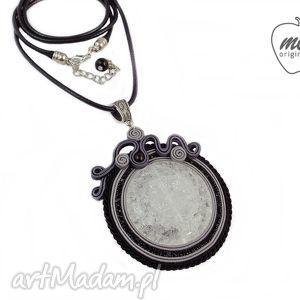 ~mela stone~ naszyjnik wisior sutasz ISEI kryształ, wisior, sutasz, kamień, kryształ