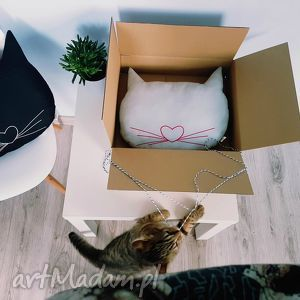 kocia poduszka - ,kot,kotek,kotki,cat,poduszka,podusia,