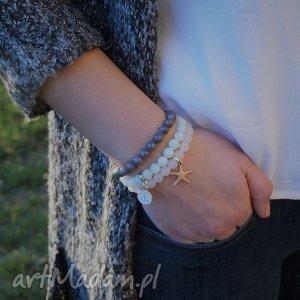 bransoletki miętowy marmur, bransoletka, kamień, kobieta, prezent, elegancja