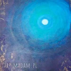 centrum obraz akrylowy na płótnie 100x80cm artystki adriany laube