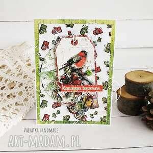 kartka świąteczna 521 vairatka handmade