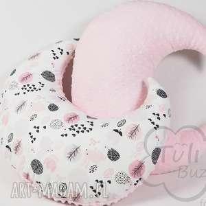 ręcznie wykonane pokoik dziecka poduszka do karmienia księżyc wielofunkcyjna