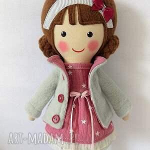 Prezent MALOWANA LALA PAULINKA, lalka, zabawka, przytulanka, prezent, niespodzianka